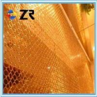 Buy cheap Metal ring mesh decorative curtain/rin from wholesalers