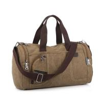 Buy cheap Wholesale Retro Leather Waxed Canvas travel Duffel Holdall Duffle Bag from wholesalers
