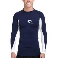 Buy cheap Mens Long Sleeve Rashguards Swim T-Shirts Top UV Surf Wear from wholesalers