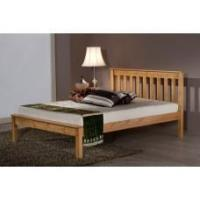 Buy cheap 120Cm Denver 4ft Low End Pine Bed from wholesalers