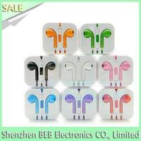 Buy cheap iPhone earphone with mic and volume control product