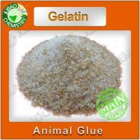 Buy cheap Yellow color Animal Glue good quality Adhesives from wholesalers