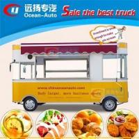 Buy cheap 2017's fashion mobile kitchen trailer for sale in DUBAI from wholesalers