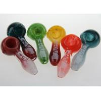 Buy cheap 10pcs/lot new Colorful Glass Pipes Smoking Hand Pipe from wholesalers