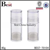 Buy cheap clear PS plastic lip balm tube 40g clear PS plastic lip balm tube 40g from wholesalers