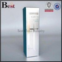 Buy cheap blue hot stamping logo paper box from wholesalers