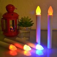 Buy cheap plastic flameless led taper candle from wholesalers