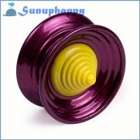 Buy cheap Wholesale custom 5.6cm aluminium purple alloy YOYO ball from wholesalers