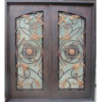 Buy cheap Wrought Iron Doors LTDR25 Wrought Iron Door from wholesalers