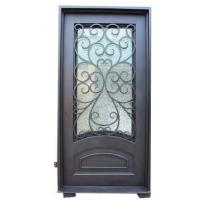 Buy cheap Wrought Iron Doors Wrought Iron Single Entry Doors from wholesalers