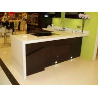 Buy cheap Quartz Artificial Stone Kitchen Quartz Worktops Sinks from wholesalers