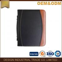 Buy cheap A4 Size Zipper Leather Padfolio Folder PU Portfolio from wholesalers