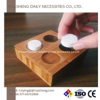 Buy cheap Compressed Towels Bamboo Holders Trays Admin Edit from wholesalers