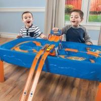 Buy cheap Learning & Developmental Toys Step2: Hot Wheels Car & Track Play Table from wholesalers