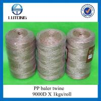 Buy cheap Twisted Polypropylene Hay Baler Twine from wholesalers