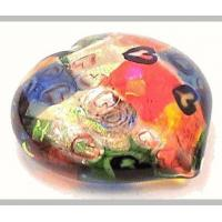 "Buy cheap Glass Paperweights For Sale,""Red Heart"" 2015 by Michael Maddy and Rina Fehrensen of Mad Art. product"