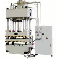 Buy cheap 1000 ton Four column portable hydraulic press machine from wholesalers