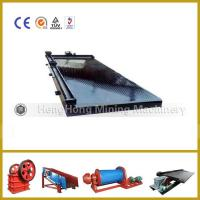 Buy cheap Mining Hyperbolic Shaker Table Equipment For Gold Copper Tin Ore from wholesalers