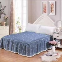 Buy cheap Cotton Solid Flat Sheet with Fringe from wholesalers