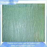 Buy cheap Partition Cast Glass Slumped Glass Panes from wholesalers