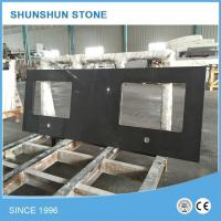 Buy cheap Artificial Black Quartz Stone Kitchen Counter Tops from wholesalers