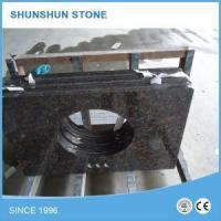 Buy cheap Indian Tan Brown Granite Bathroom Vanity Top with Cabinet from wholesalers