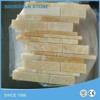 Buy cheap Honey Yellow Onyx Mosaic Tile for Wall and Floor Polished/Honed from wholesalers