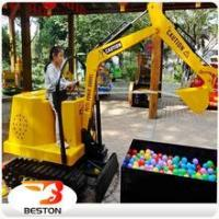 Buy cheap Beston Mini Digger Kids Toys Excavator Children amusement sandbox excavator from wholesalers