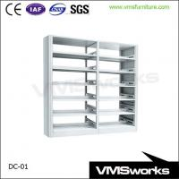 China Full Steel School Furniture Library Book Shelves on sale