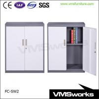 Buy cheap Half Height Sliding Door Metal Office Storage Cabinets from wholesalers