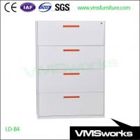Buy cheap New Design Customized Handle 2/3/4 Office Metal Lateral Filing Drawers Storage Furniture from wholesalers