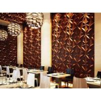 Buy cheap Eco-friendly Green Material 3D Building Material Fireproof Easy DIY 3D Wall Panels from wholesalers