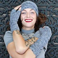 Buy cheap Velutinous Lace - Crochet Cap & Wristlets from wholesalers