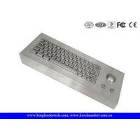 Buy cheap 63 Mechanical Keys Metal Dustproof Keyboard Industrial Desktop from wholesalers
