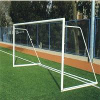 Buy cheap School sports mini 5x2m iron soccer goal net football goal from wholesalers