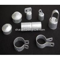 Buy cheap ASTM A392 standard chain link fence accessories, brace bands | post cap | sleeves | tension bar from wholesalers