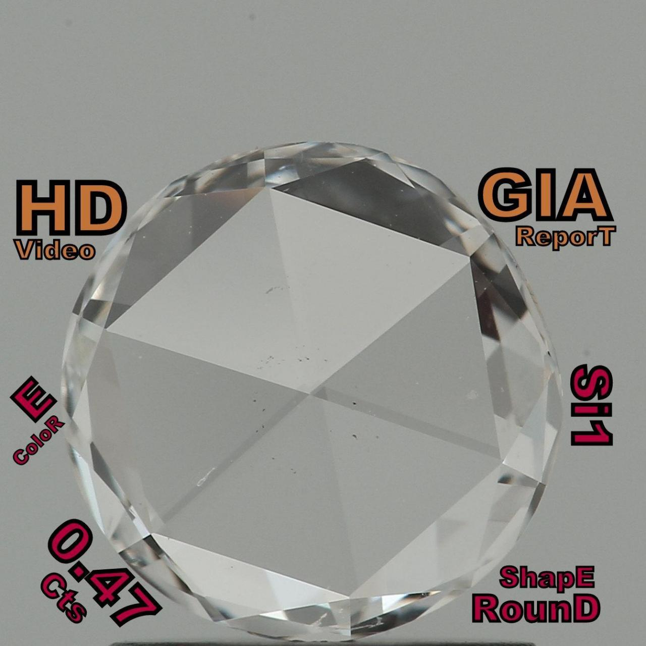 Buy cheap GIA CERTIFIED 0.47 Cts Natural Loose Diamond Brilliant Cut E Color Si1 L5326 from wholesalers