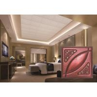 Buy cheap PU Faux Leather Ceiling Tiles product