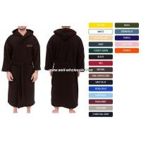 Buy cheap cotton terry bathrobe from wholesalers
