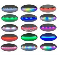 Buy cheap 20inch white color 6500k 120w car lights 12 volt led light bar RGB Chasing HALO from wholesalers