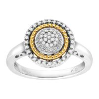 Buy cheap 1/8 ct Diamond Circle Ring - Designers from wholesalers