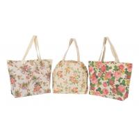 Buy cheap LOGO Design Fashion Ecological Printed Cheap Plain Tote Canvas Bags For Girls Shopping from wholesalers