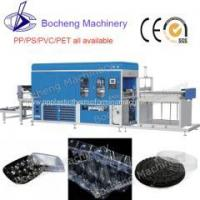 Buy cheap High Speed Plastic Egg Tray Vacuum Forming Machine from wholesalers