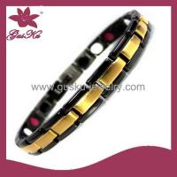 Buy cheap Gus-STB-186Lady classic pop 316 stainless steel anti-fatigue radiation magnetic health bracelets from wholesalers