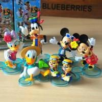 Buy cheap 6pcs Disney Mickey Minnie Goofy Chip Dale Action Figures Toy Cake Topper Decor $17.95 from wholesalers