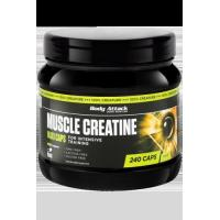 Buy cheap Body Attack Muscle Creatine (Creapure) - 240 Maxi-Caps from wholesalers