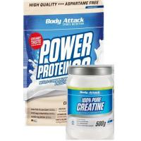 Buy cheap Body AttackMuscle growth Duo - Creatine plus Power Protein 90 from wholesalers