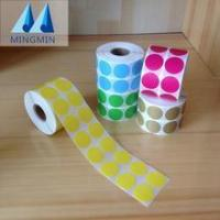 Buy cheap Hot stamping foil white barcode label roll for Dymo label printer from wholesalers