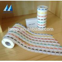 Buy cheap High-grade die cut printing adhesive label sticker in rolls from wholesalers