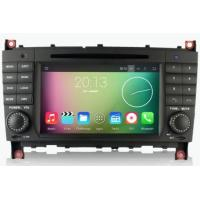 Buy cheap In-Dash Car Navigation Stereo Android 5.1 OS Navigation DVD Player For Benz C-W203 CLC W209 from wholesalers